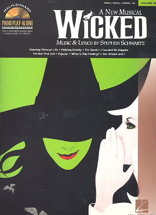 Stephen Schwartz: Piano Play-Along Volume 46: Wicked Pvg Book/Cd