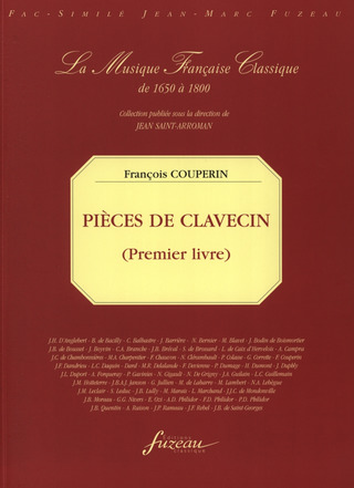 François Couperin: Pieces De Clavecin 1