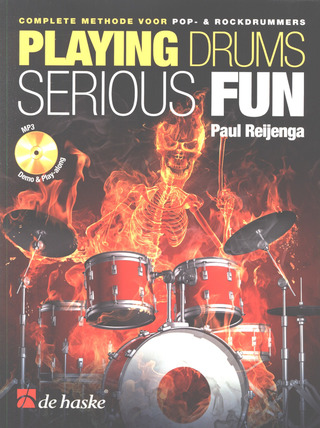 Paul Reijenga: Playing drums serious fun