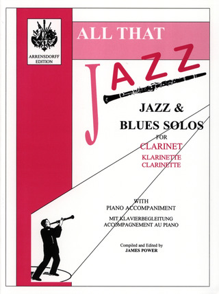 James Power: All That Jazz Clarinet/Piano Accompaniment Book