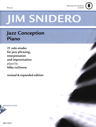 Jim Snidero: Jazz Conception – Piano
