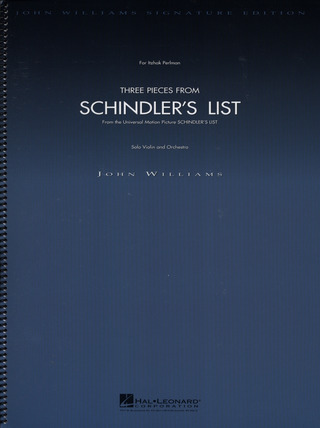 John Williams: 3 Pieces From Schindler's List