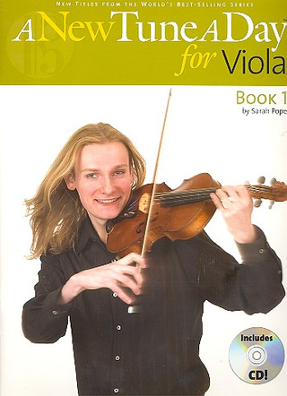 Pope Sarah: A New Tune A Day Viola Cd Edition Vla Book / Cd