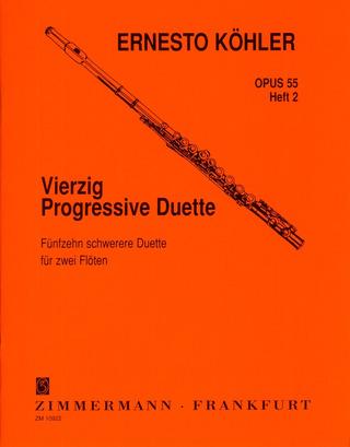20 leichte und melodische Lektionen op in fortschreitender Schwierigkeit 93 Heft 1 f/ür Fl/öte solo