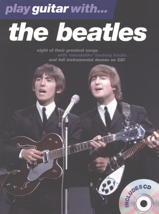 The Beatles: Play Guitar With The Beatles 1 Tab Book/Cd