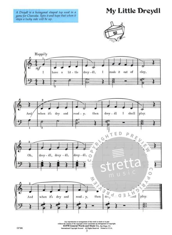 Hebrew Favorites Piano Book Bastien Hatikva Chanuka Hava Nagila Kol Nidre Dayenu