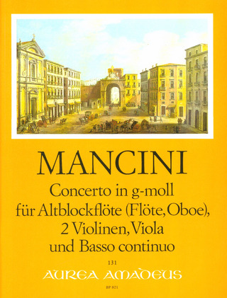 Francesco Mancini: Concerto in G Minor