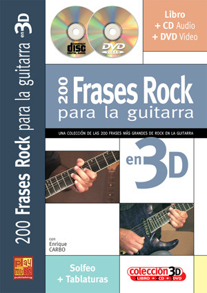 Enrique Carbo: 200 frases rock para la guitarra en 3D