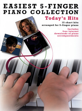 Easiest 5-Finger Piano Collection: Today's Hits