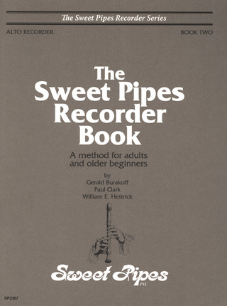 Gerald Burakoff et al.: The Sweet Pipes Recorder Book 2