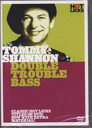 Shannon Tommy: Hot Licks: Tommy Shannon - Double Trouble Bass Bgtr Dvd(0)