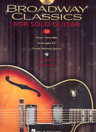 Broadway Classics For Solo Guitar