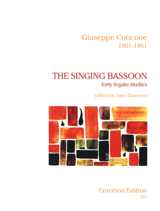 Giuseppe Concone: The Singing Bassoon - 40 Legato Studies Op 17