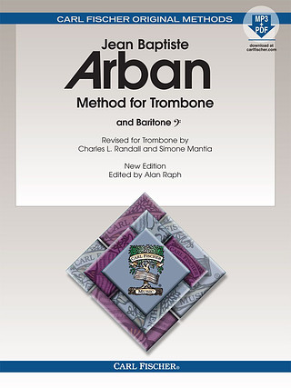 Jean-Baptiste Arban: Method for Trombone and Baritone (Bass Clef)