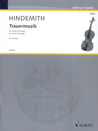 Paul Hindemith: Trauermusik (1936/2012)