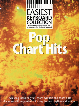 Easiest Keyboard Collection Pop Chart Hits