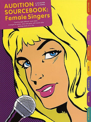 Audition Sourcebook For Female Singers Book/2Cd