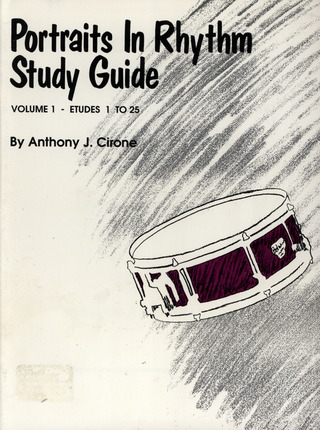 Anthony J. Cirone: Portraits In Rhythm – Study Guide 1
