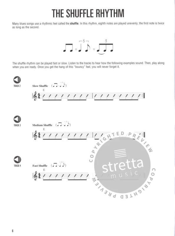 Hal Leonard Guitar Method Blues Guitar Book/Cd from Koch