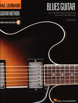 Koch Greg: Hal Leonard Guitar Method Blues Guitar Book/Cd
