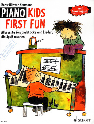Hans-Günter Heumann: Piano Kids First Fun