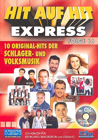 Hit auf Hit Express 16 NOTEN + CD