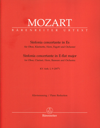 Wolfgang Amadeus Mozart: Sinfonia concertante in Es-Dur