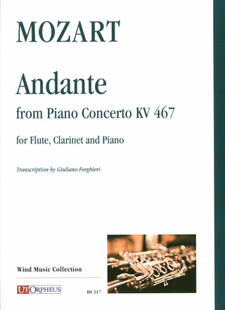 Wolfgang Amadeus Mozart: Andante from Piano Concerto KV 467