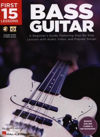 Jon Liebman: First 15 Lessons – Bass Guitar
