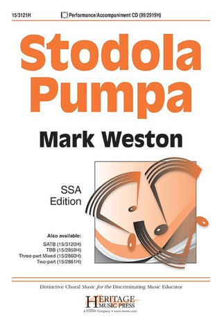 Mark Weston: Stodola Pumpa