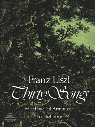 Franz Liszt: Thirty Songs For High Voice