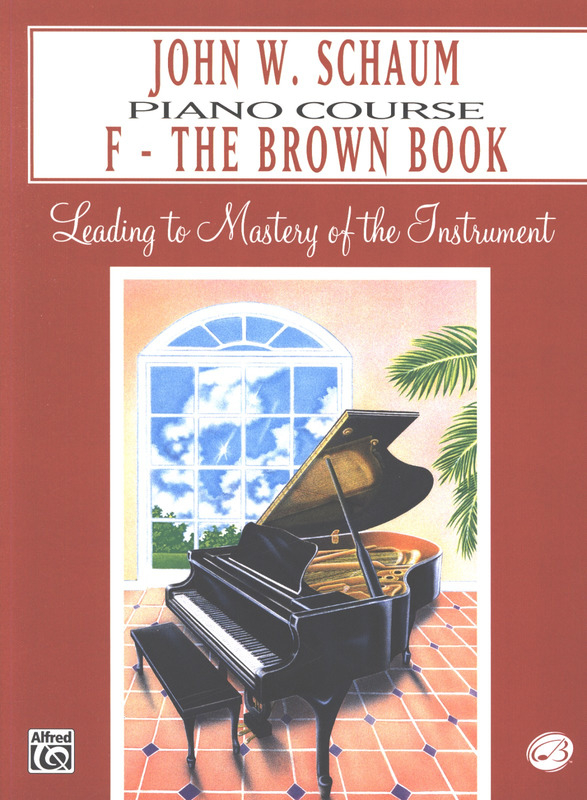 John Wesley Schaum: The Brown Book