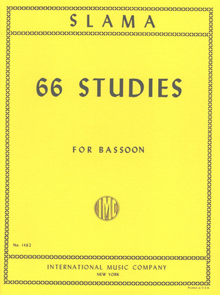 Slama Anton: 66 Studies In All Keys
