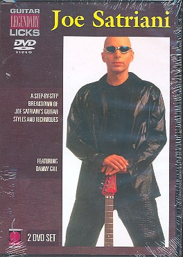 Joe Satriani: Satriani, Joe Legendary Licks 2Dvd