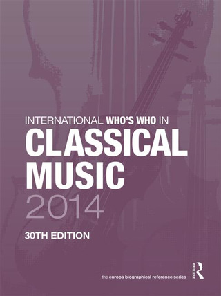 International Who's Who in classical music 2014