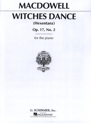 Edward MacDowell: Witches Dance Op 17/2