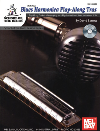 David Barrett: Blues Harmonica Play Along Trax