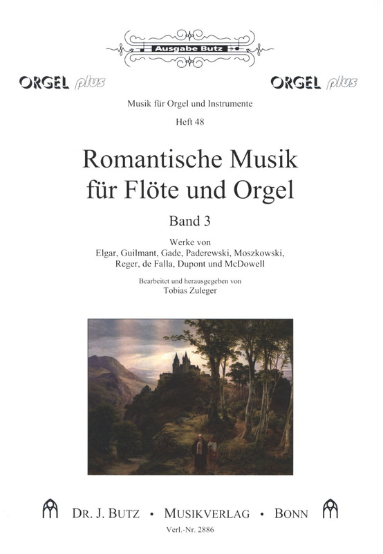 Romantische Musik für Flöte und Orgel 3 | im Stretta Noten
