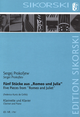 "Sergej Prokofjev: Five Pieces from ""Romeo and Juliet"""