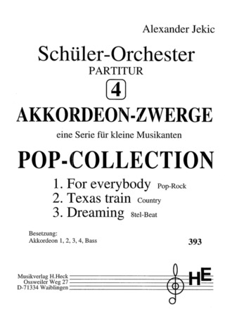 Alexander Jekic: Akkordeon Zwerge 4 - Pop Collection