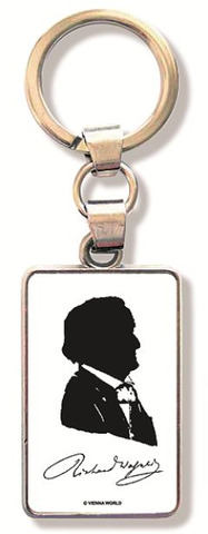 Keyring Wagner Silhouette