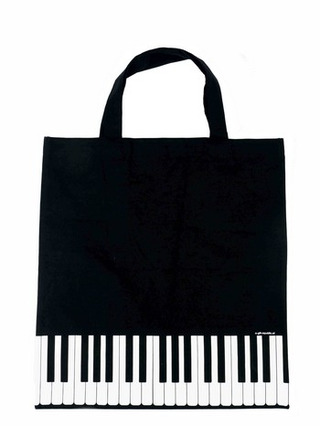 Tote Bag Keys Black