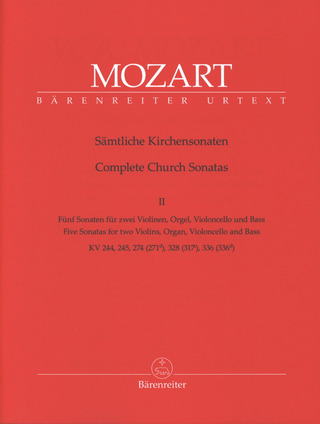Wolfgang Amadeus Mozart: Complete Church Sonatas 2