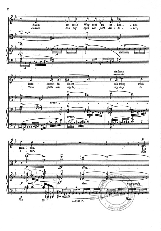 Richard Strauss: Stiller Gang op. 31/4 (1895) (1)
