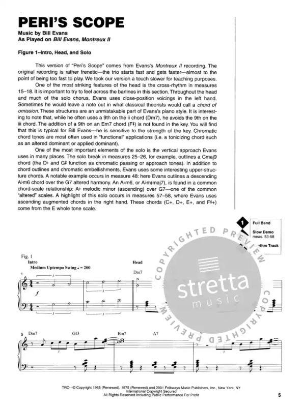 Bill Evans Keyboard Signature Licks Bk/Cd from Bill Evans