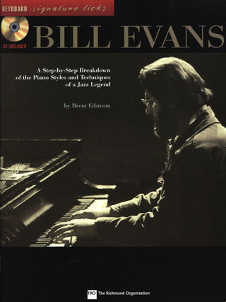 Bill Evans: Bill Evans Keyboard Signature Licks Bk/Cd