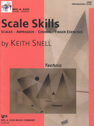 Keith Porter-Snell: Scale Skills – Preparatory Level