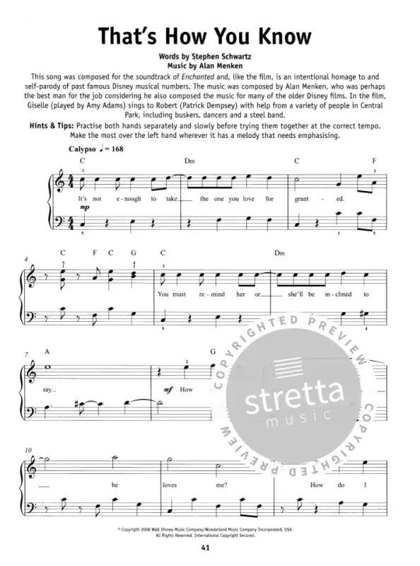 Really Easy Piano Disney Für Klavier