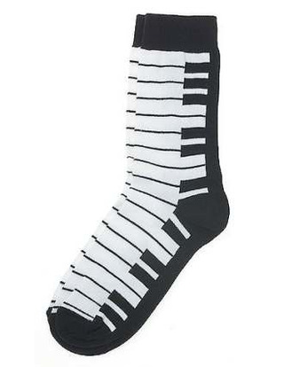 Women's Socks: Keyboard