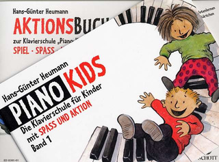 Hans-Günter Heumann: Piano Kids 1/ Aktionsbuch 1